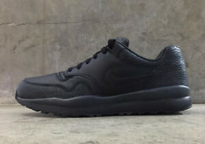 the best attitude b8049 e63bb Image is loading Nike-Air-Safari-QS-Black-Black-Anthracite-Mens-