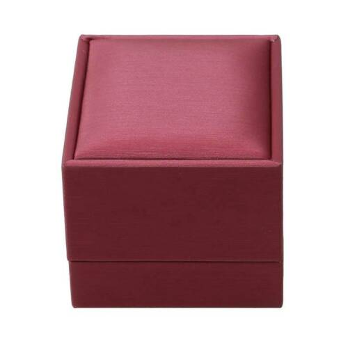 Luxury PU Leather Jewelry Box for Ring Necklace Bracelet Holder Jewelry Boxes Q