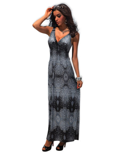 Spring Summer Wear Long Prom Maxi Cocktail Dress UK size 10-12 Colours Available