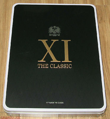 SHINHWA THE CLASSIC 11TH ALBUM TIN CASE LIMITED EDITION CD & FOLDED POSTER NEW