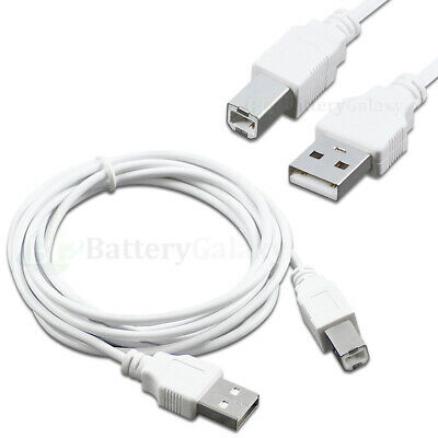 NEW ~ USB 2.0 A//B Printer Scanner 6ft Cable for Dell HP