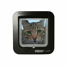 GENUINE Sureflap Microchip CatFlap Brown Poster Today If Paid Before 3pm