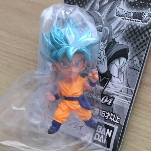 Dragon Ball-Key Chain Figure mouvement démocratique Uni vjsp 04-Goku//Gohan//Broly//Gogeta