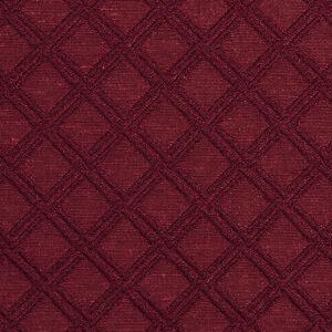Image Is Loading E545 Burgundy Diamond Durable Jacquard Upholstery Grade Fabric