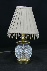 Vintage-Small-Double-Walled-Lamp-Shade-with-Handing-Tassels