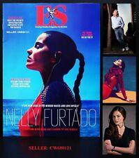 NELLY FURTADO RICHARD BRANSON LARA PULVER ES MAGAZINE AUGUST 2012 NEW