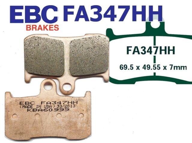 EBC Brake Pads FA347HH Front Axle fits Kawasaki ZX9R(ZX 900 F1/F2) 02-04