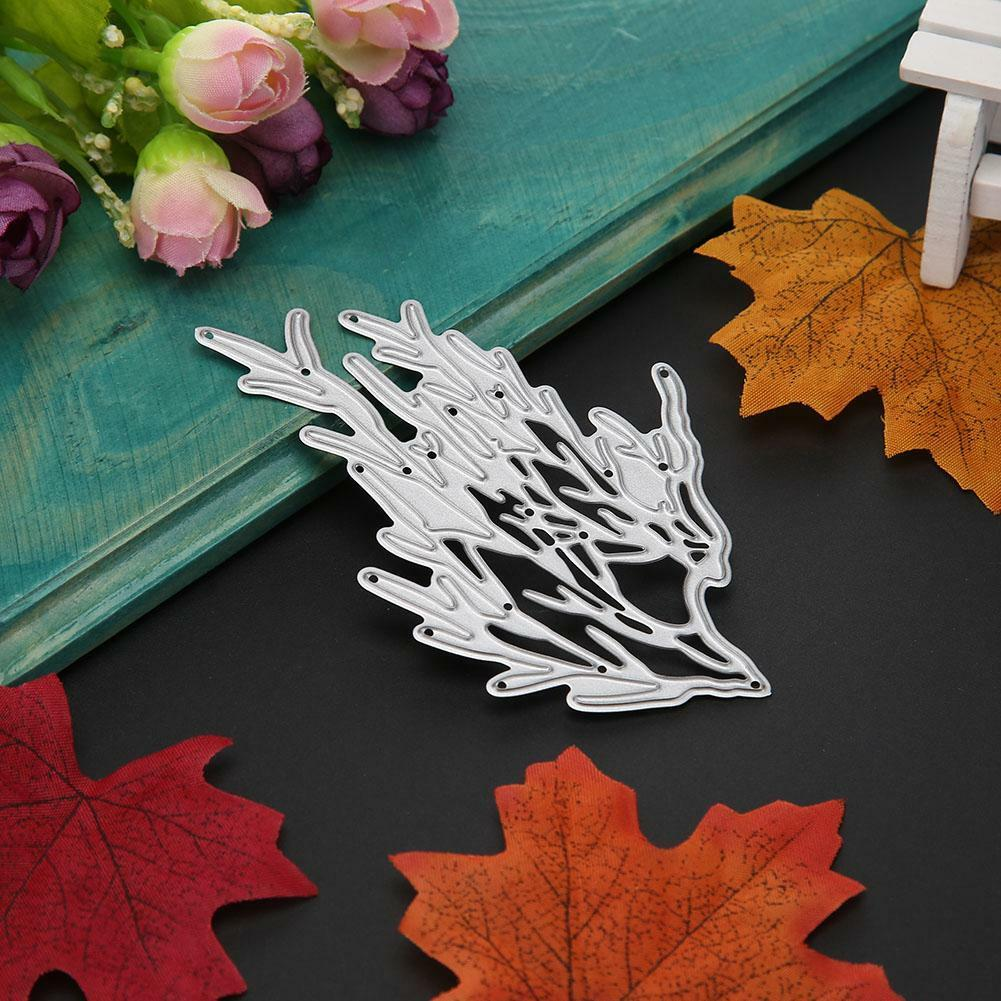 Maple Leaf Stencil Cutting Dies Scrapbooking Karte Tagebuch Stanzschablone Craft