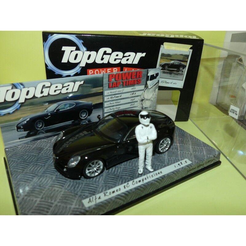 prezzo all'ingrosso ALFA ROMEO 8C COMPETIZIONE nero TopGear TopGear TopGear MINICHAMPS 1 43  ci sono più marche di prodotti di alta qualità