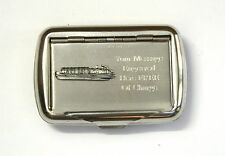 Barge Tobacco Hand Rolling Ups Cigarette Tin FREE ENGRAVING Narrow Boat Gift