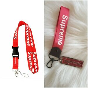 Supreme-Lanyard-Keychain-Red-Bundle-Best-Deal-On-Ebay-Quality-Products