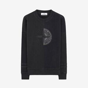 Stone-Island-039-Old-039-Dye-Treatment-Sweatshirt-Black