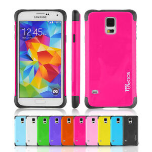 Samsung-Galaxy-S5-Case-Shock-Proof-Slim-Drop-Protection-Protective-Hybrid-Cover