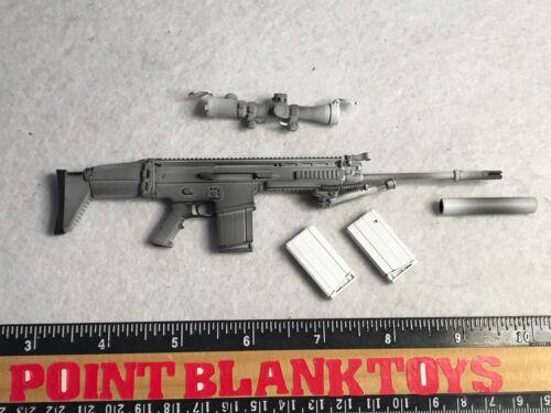 MINI TIMES MK17 Rifle US NAVY SEAL WINTER 1//6 ACTION FIGURE TOYS MINITIMES dam