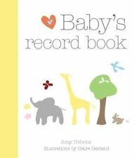 Baby's Record Book 2008 by Amy Nebens (2008, Hardcover, Special)