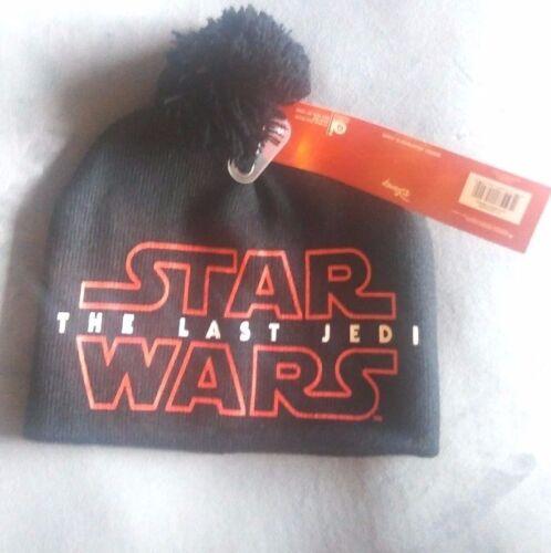 New DISNEY STAR WARS The Last Jedi Kid/'s Beanie Knit Hat