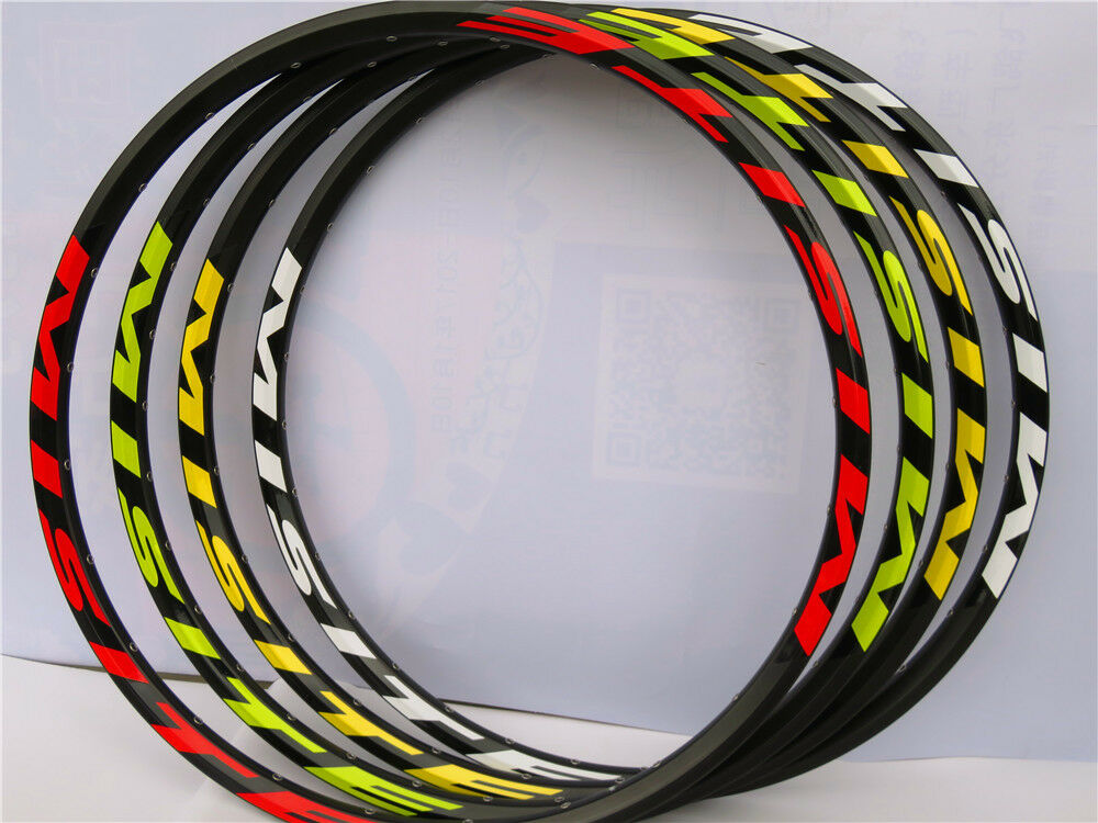 26  27.5   MTB Moutain Bike Bicycle Rim 24 28 32 36H Disc Brake