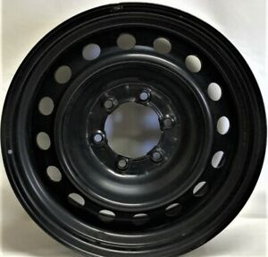17 Inch 6 on 5.5  Black Steel Wheel Fits Tacoma 4Runner Fj Cruiser WE40596T