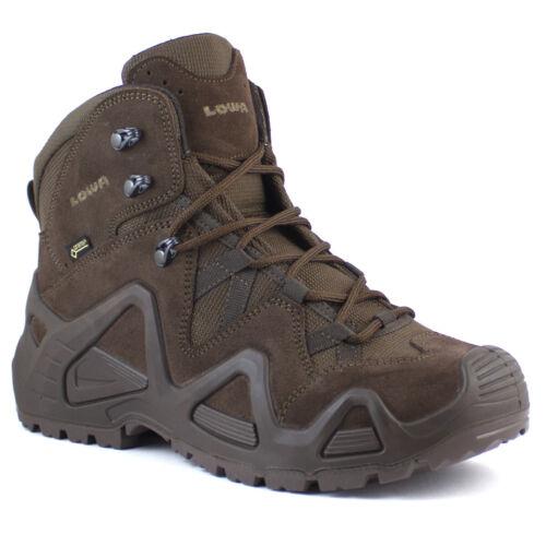 Lowa Zephyr GTX Mid TF Men/'s Military Waterproof Gore-Tex Walking Boots Brown