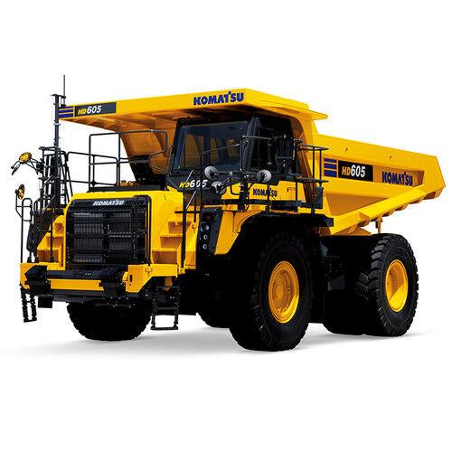 First Gear 50-3387 Komatsu HD605-8 Rigid-Frame Quarry Dump Truck 1/50 Diecast MB