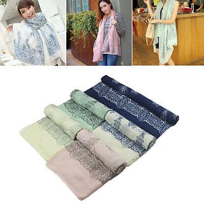 1pc New Brand Fashion Soft Women Long Print Cotton Scarf Wrap Ladies Long Shawl