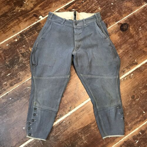 Vintage Sweet Orr Salt & Pepper Jodhpurs Riding Pa