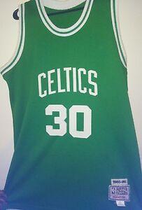brand new 69d99 54a11 Details about Lin bias vintage celtics jersey Hardwood Classic MITCHELL&NESS