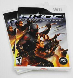 G-I-JOE-The-Rise-of-Cobra-Nintendo-Wii-2009-CIB-NEW-SEALED-MINT-RARE
