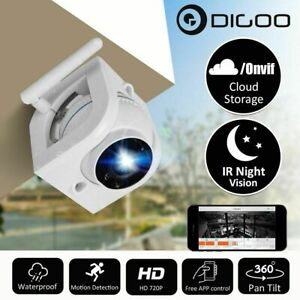 Details about Digoo DG-W02f ONVIF 720P HD Outdoor WIFI Security IP Camera  Cloud Storage PTZ