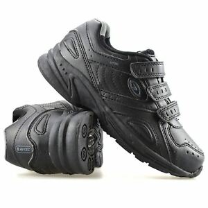 Boys-Kids-New-Hi-Tec-Smart-Casual-Touch-Strap-Back-To-School-Trainers-Shoes-Size