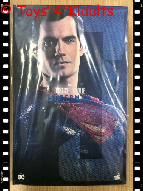 🔥 Hot Toys MMS 465 Justice League Superman Henry Cavill LED Light Figure NEW
