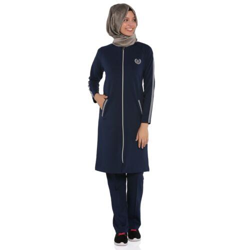 E-576 Sport Tuta, hijab, Sportswear, tuta da jogging, tesettür esofman