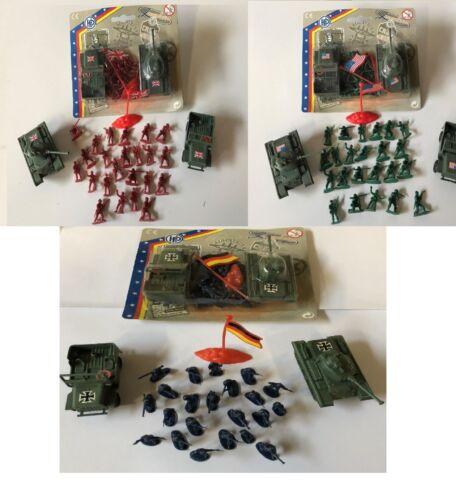 Esercito riproduzione Soldati riproduzione CARRO ARMATO ARMY MILITARE GIOCATTOLO