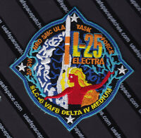 Nro L-25- Electra Delta Iv M+(5,2) Vafb Ula Usaf Original Satellite Launch Patch