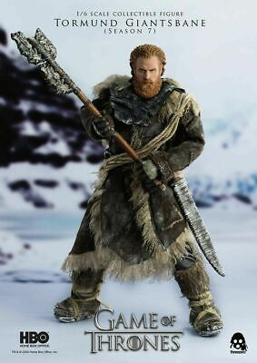 Threezero 1//6 3Z0106 Tormund Giantsbane Game of Thrones Action Figure Model Toy