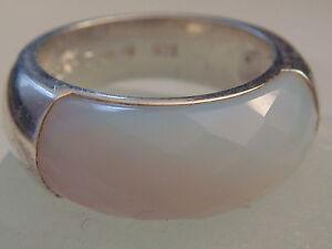 Huebscher-Ring-von-Esprit-mit-Calcit-besetzt-925er-Silber-Silberring