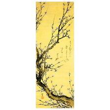 Flowering Plum by Hokusai Deco FRIDGE MAGNET, Japanese Art Repro Mini Gift
