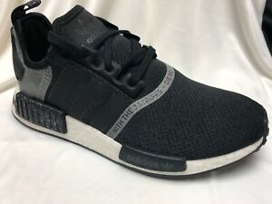 Details about Adidas NMD R1 Boost Black Gray Reflective F36801