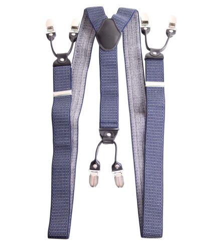 Y-Schl Unisex retro Rockabilly vintage Style Suspenders Hosenträger gemustert m