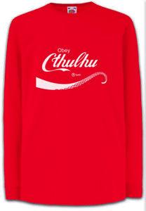 CTHULHU-COLA-Kinder-Langarm-T-Shirt-Lovecraft-Miskatonic-H-P-Fun-Horror-Wars