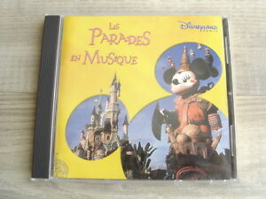 soundtrack-CD-brass-walt-DISNEY-LAND-PARIS-Les-Parades-En-Musique-MARCHING-BAND