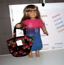 VERA BRADLEY RARE HENS N HOLLY TEENY PADDY MINI BAG COSMETIC DOLL NOT INCLUDED