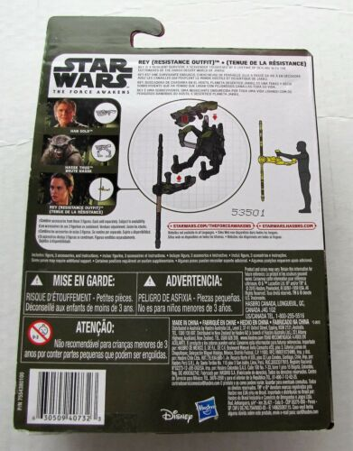 Resistance Outfit 3.75 inch MISB Star Wars Force Awakens Rey
