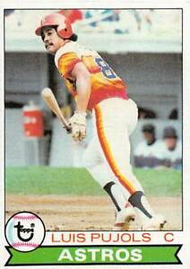 trading card Topps ASTROS 1979 LUIS PUJOLS  #139
