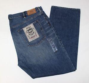 bc31af6fe New Polo Ralph Lauren Big   Tall Hampton Straight 5 Pocket Blue ...