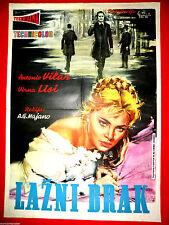 IL PADRONE DELLE FERRIERE 1959 VIRNA LISI ANTONIO VILAR GUIDA EXYU MOVIE POSTER