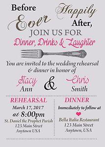 image is loading rehearsal dinner invitation bridal shower invitations wedding rehearsal