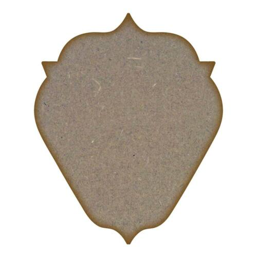 181mm x 148mm Mdf plaque 2-Medium