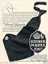 Corona corbatas Tübke Berlín publicitarias 1942 corona león tie 3. Reich publicidad ad