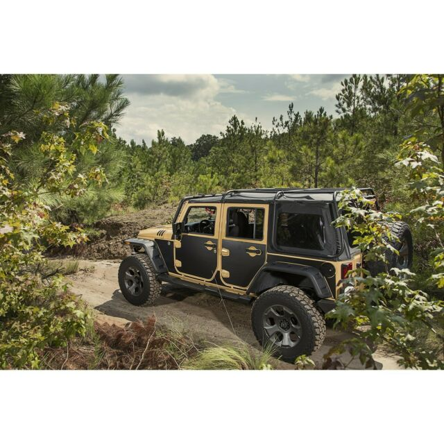 Rugged Ridge 12300.53 Magnetic  Panel Kit for Jeep Wrangler JK 4-Door 07-18 JKU